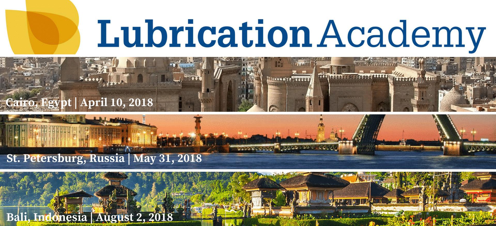 Lubrication Academy 2018 Dates